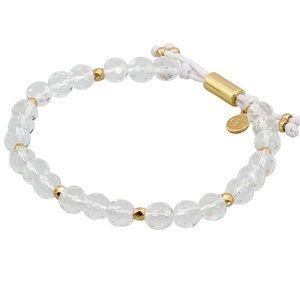 Gorjana Power Gemstone Bracelet Crystal Quartz